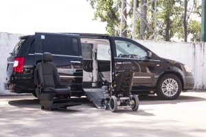 Lancia Voyager conducción desde silla de rueda