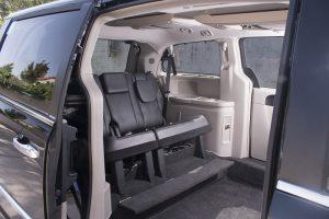 Lancia Voyager conducción desde silla de ruedas