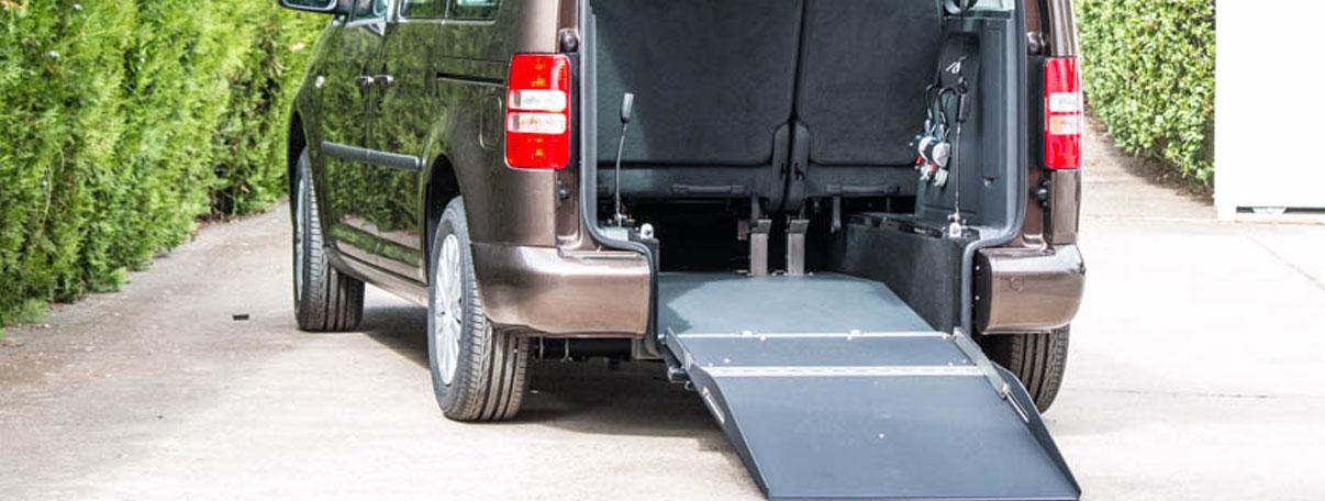 vehículo para discapacitado